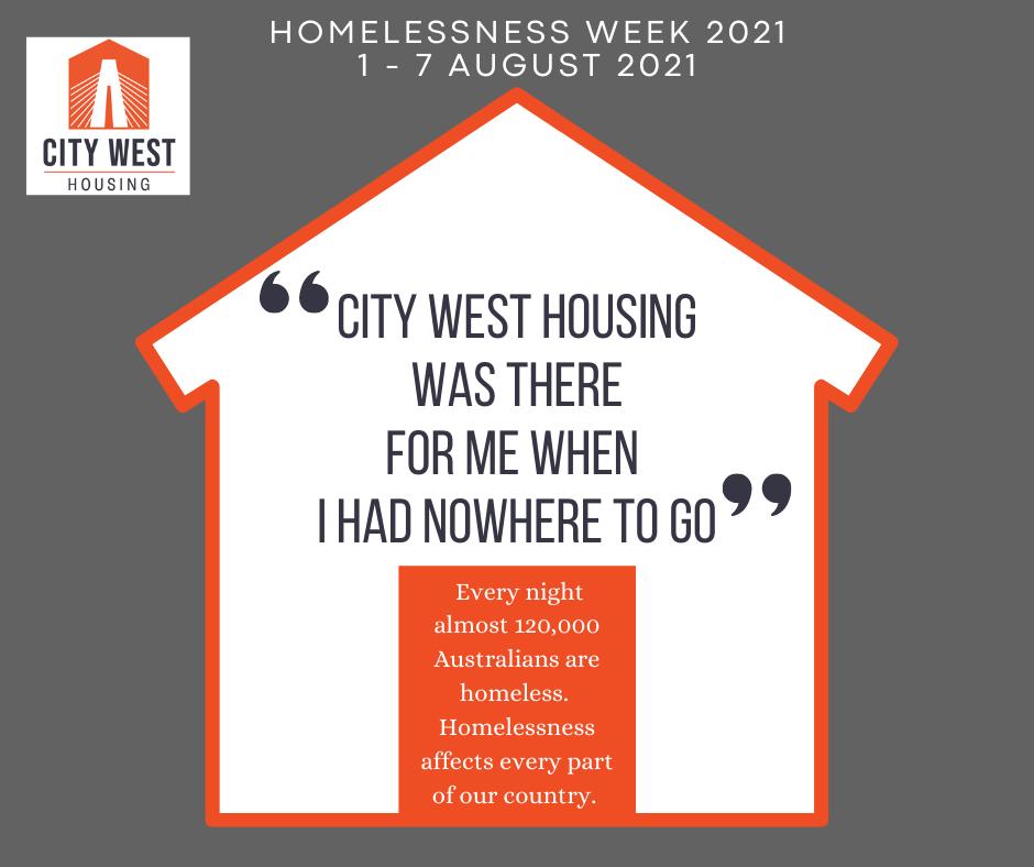 Homelessness Week 2021
